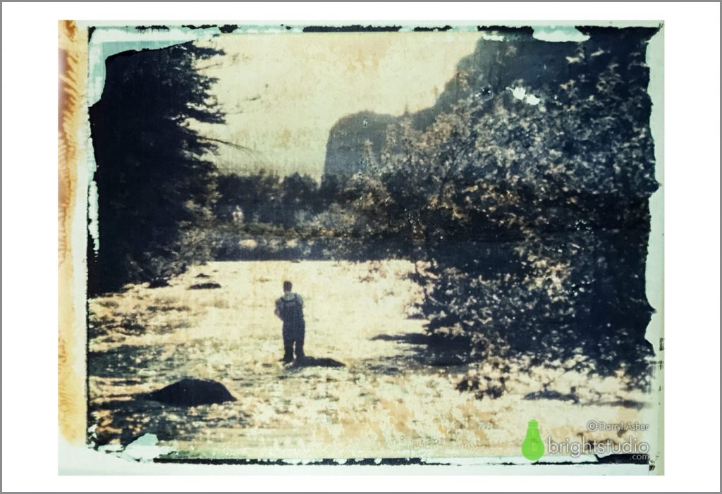 Polaroid transfer fine art photography print