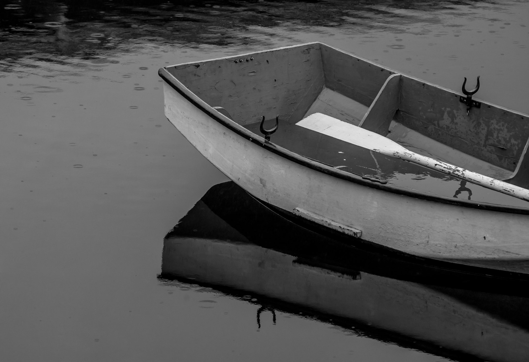Dinghy at Gig Harbor, Washington
