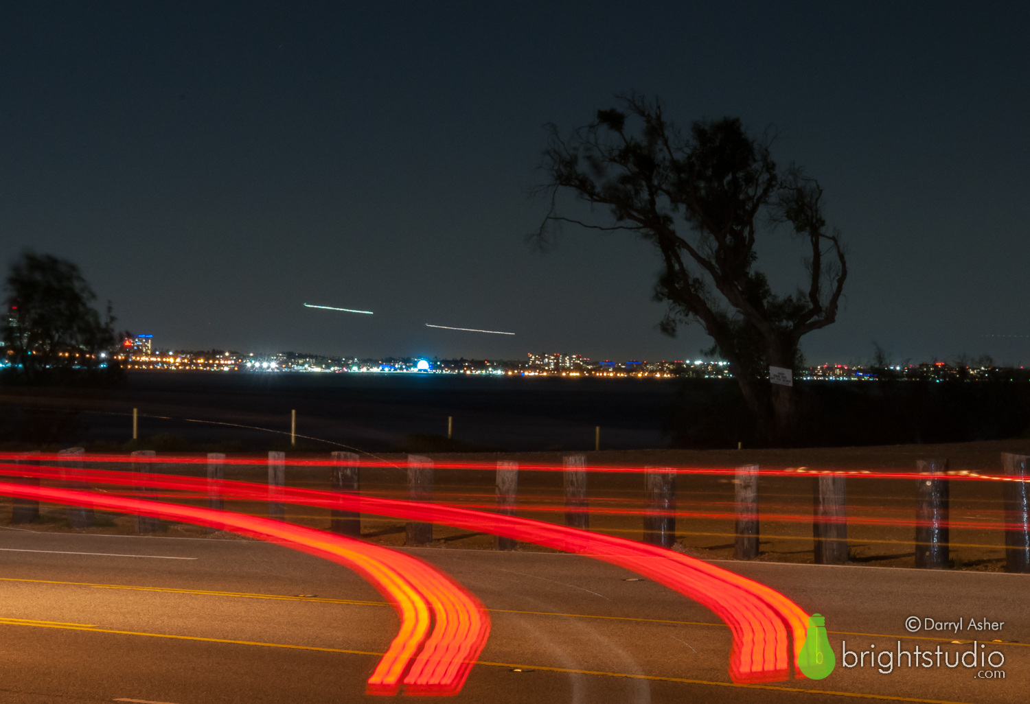 Night Passing – Pacific Coast Highway #2