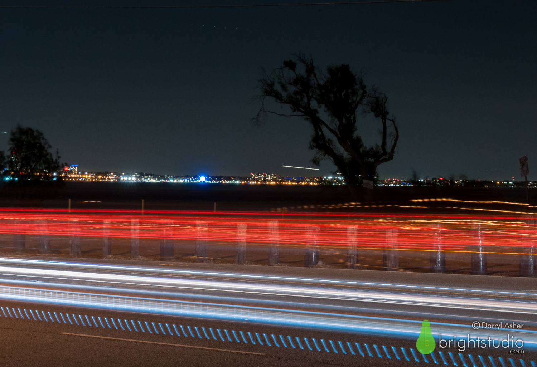 Night Passing – Pacific Coast Highway #1