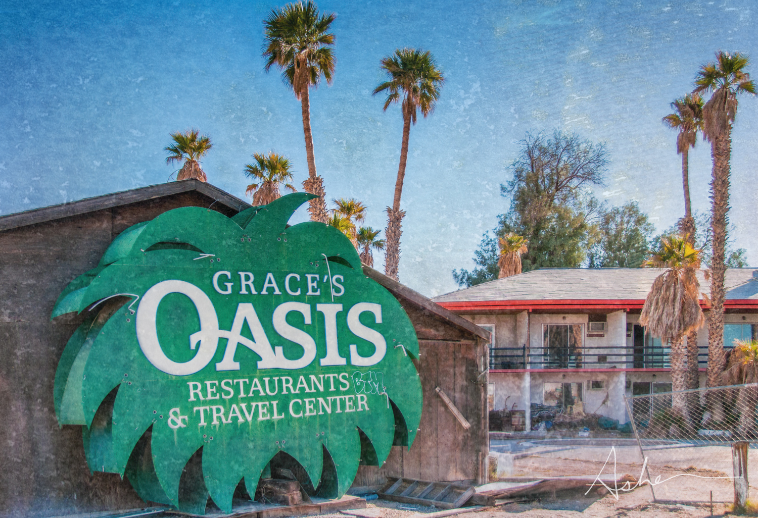 Grace's Oasis, Baker California